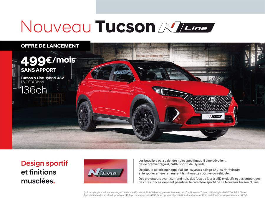 Nouveau Tucson N Line